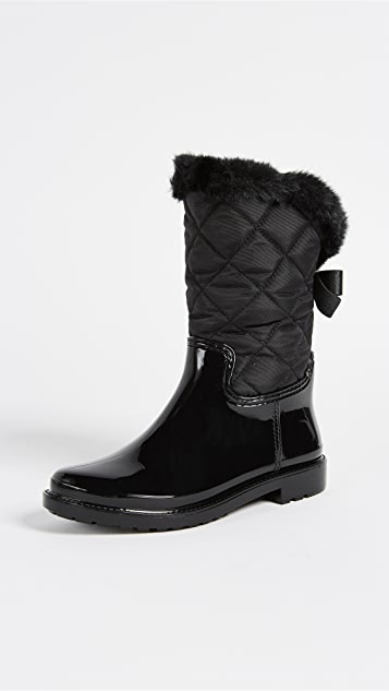 Kate Spade New York Reid Quilted Rubber Rainboots