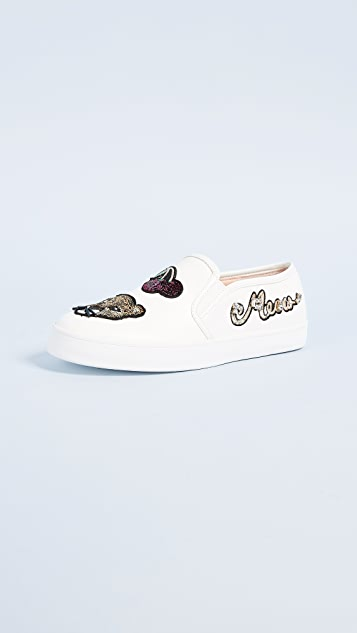 Kate Spade New York Lizbeth Patch Slip On Sneakers