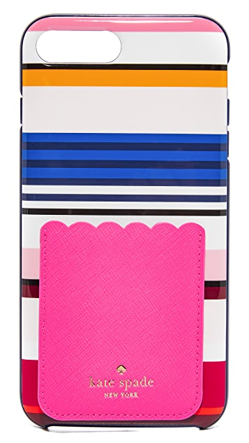 Kate Spade New York Scallop Sticker Phone Pocket