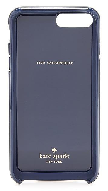 Kate Spade New York Berber Stripe iPhone 7 Plus Case