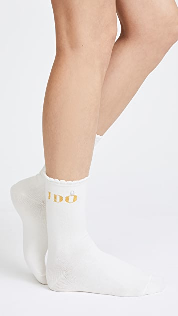 Kate Spade New York Bride 3 Pack Sock Set
