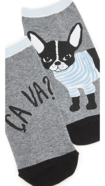 Kate Spade New York Frenchie 3 Pack Sock Set