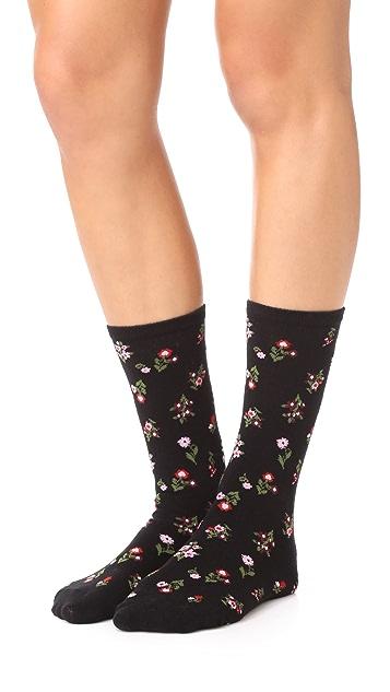 Kate Spade New York In Bloom Floral 3 Pack Sock Set