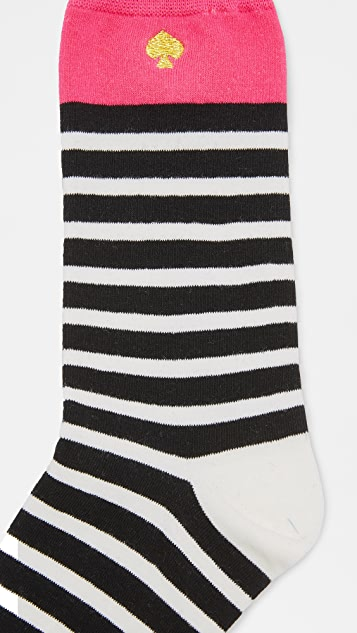 Kate Spade New York Hearts 3 Pack Sock Set