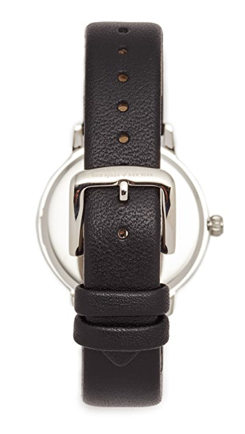 Kate Spade New York Chalkboard Leather Watch