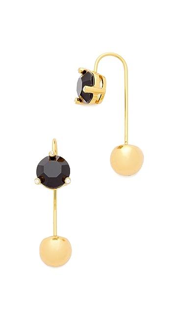Kate Spade New York Rise & Shine Hanger Stud Earrings