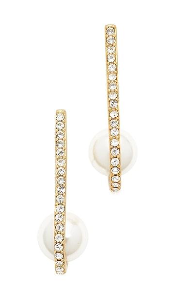 Kate Spade New York Shine On Imitation Pearl Cuff Earrings