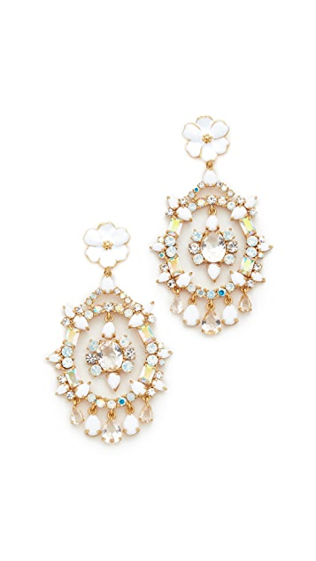 Kate Spade New York Garden Party Statement Earrings