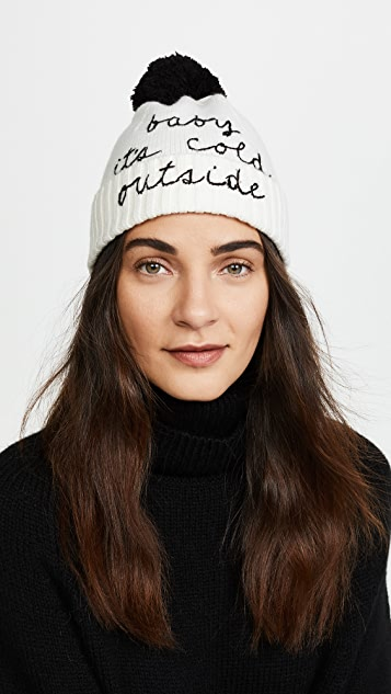 Kate Spade New York Baby Its Cold Outside Beanie