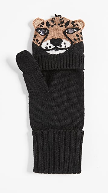 Kate Spade New York Chiquita Pop Top Mittens