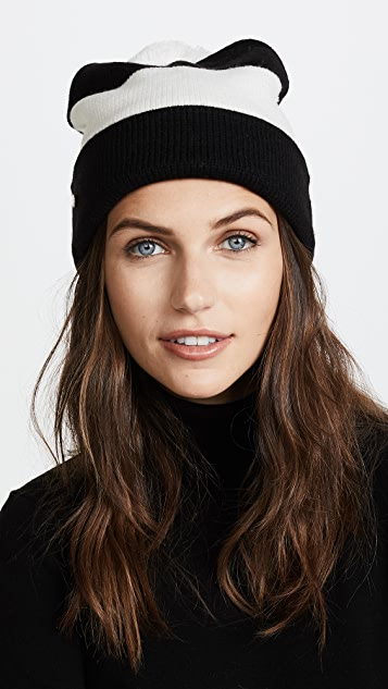 Kate Spade New York Stripe Beanie