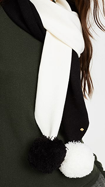 Kate Spade New York Colorblock Muffler Scarf