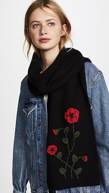 Kate Spade New York Crochet Poppy Muffler