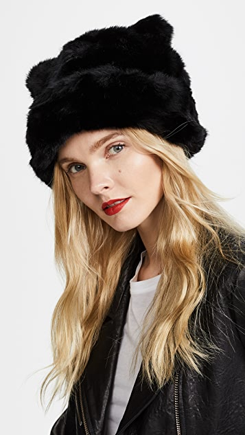 02201326543cc Kate Spade New York Faux Fur Hat with Ears