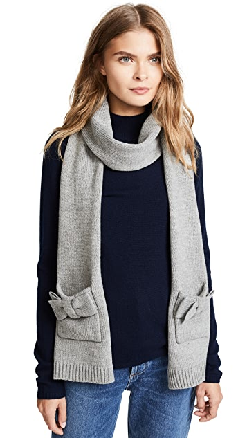 Kate Spade New York Half Bow Muffler Scarf