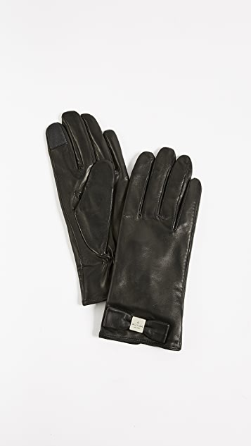 Kate Spade New York Hardware Bow Tech Gloves