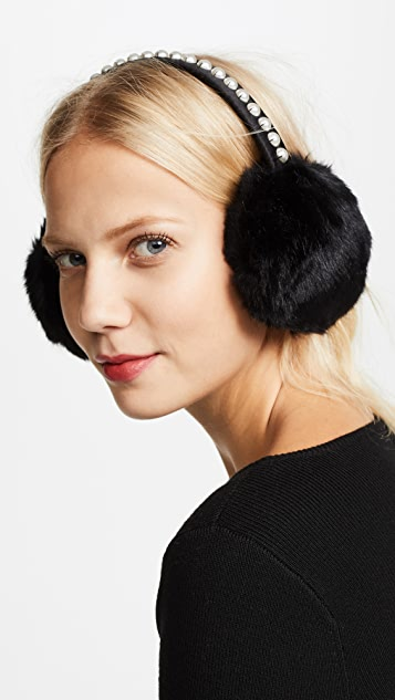 Kate Spade New York Imitation Pearl Earmuffs
