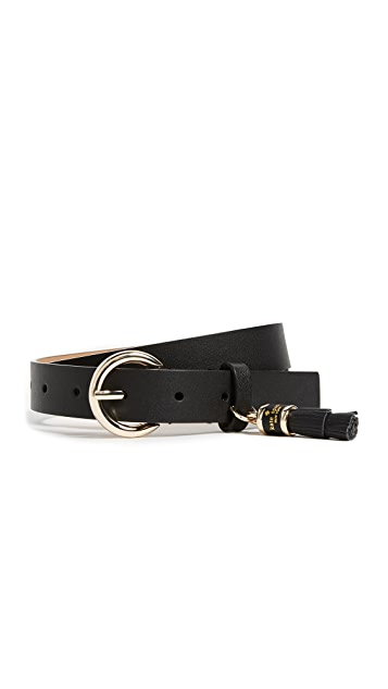 Kate Spade New York Tassel Charm Belt