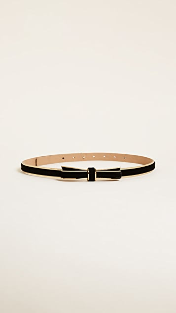 Kate Spade New York Velvet Bow Belt