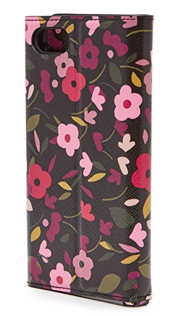 Kate Spade New York Boho Floral Envelope iPhone 7 / 8 Wristlet