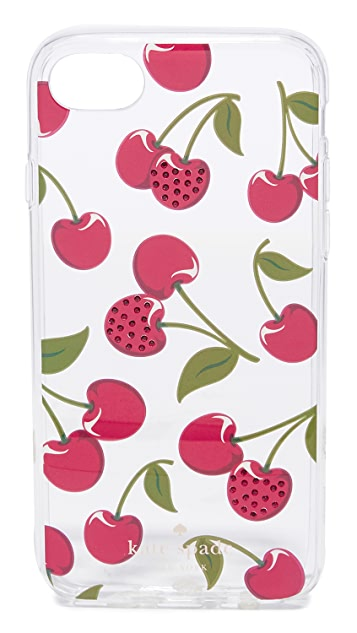 Kate Spade New York Jeweled Cherries iPhone 7 / 8 Case