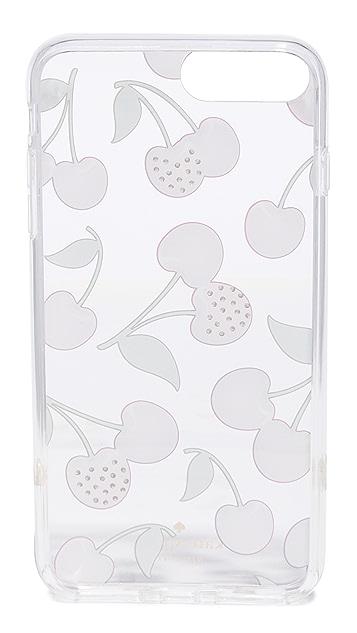 Kate Spade New York Jeweled Cherries iPhone 7 Plus / 8 Plus Case