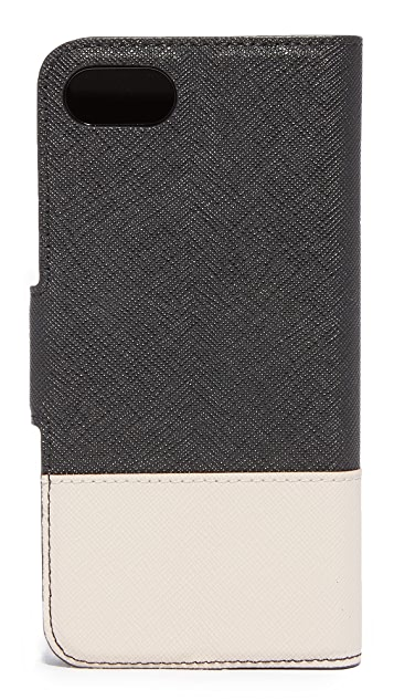 Kate Spade New York Leather Wrap Folio iPhone 7 Case / 8 Case