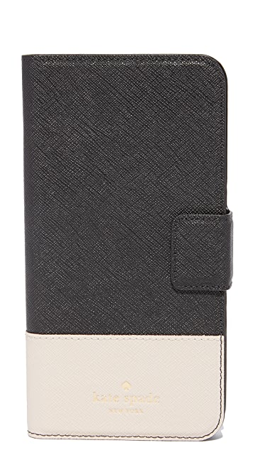 Kate Spade New York Leather Wrap Folio iPhone 7 Plus Case / 8 Plus Case