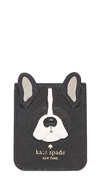 Kate Spade New York Antoine Applique Adhesive Phone Pocket