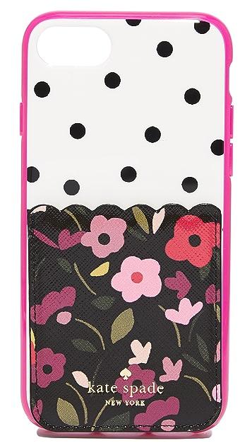 Kate Spade New York Boho Floral Adhesive Phone Pocket