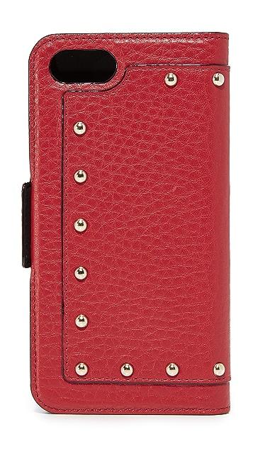 Kate Spade New York Embellished Wrap Folio iPhone 7 / 8 Case