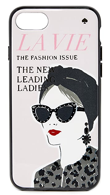 Kate Spade New York Jeweled Magazine iPhone 7 / 8 Case
