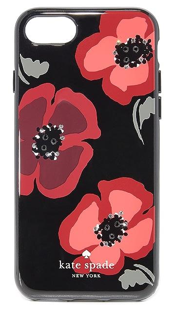 Kate Spade New York Jeweled Poppy iPhone 7 / 8 Case