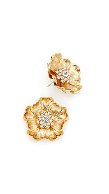 Kate Spade New York Precious Poppies Stud Earrings