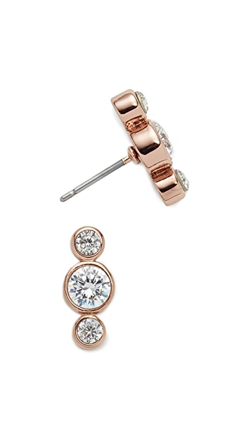 Kate Spade New York Bright Ideas Round Linear Stud Earrings