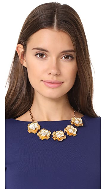Kate Spade New York Precious Poppies Necklace