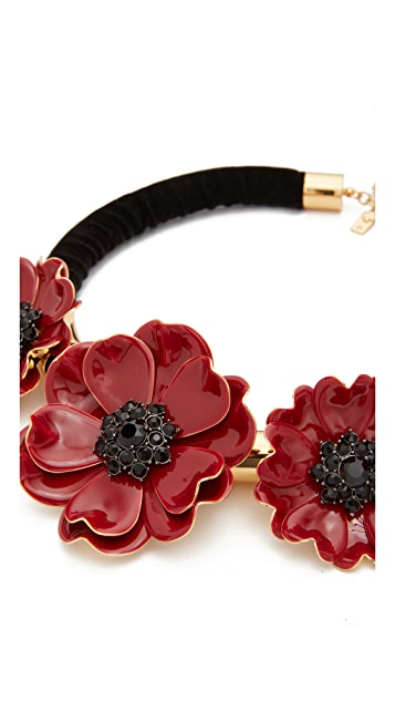 Kate Spade New York Precious Poppies Statement Necklace