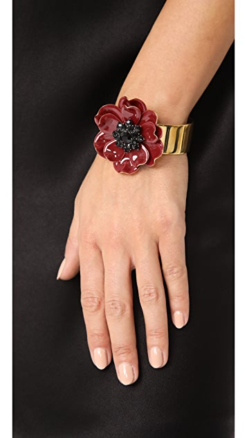 Kate Spade New York Precious Poppies Cuff