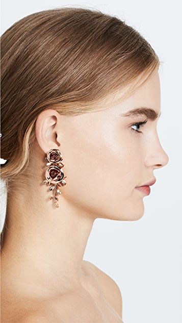 Kate Spade New York Garden Garland Statement Earrings