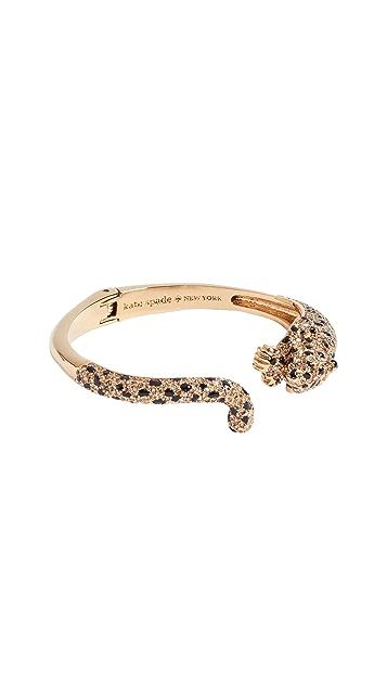 Kate Spade New York Run Wild Cheetah Cuff Bracelet