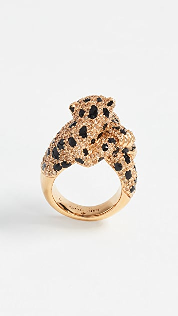 Kate Spade New York Run Wild Cheetah Ring
