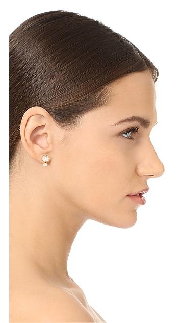 Kate Spade New York Precious Double Bauble Stud Earrings