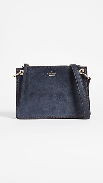 Kate Spade New York Dunn Lane Suede Caro Cross Body Bag