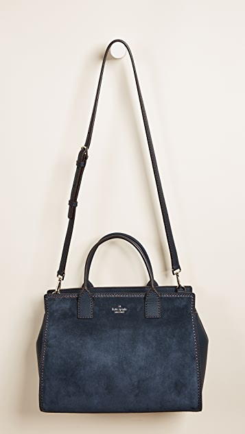 Kate Spade New York Dunne Lane Suede Lake Satchel