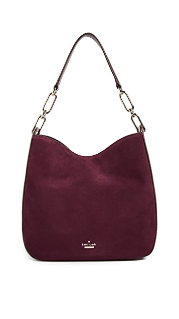 Kate Spade New York Robson Lane Suede Sana Shoulder Bag