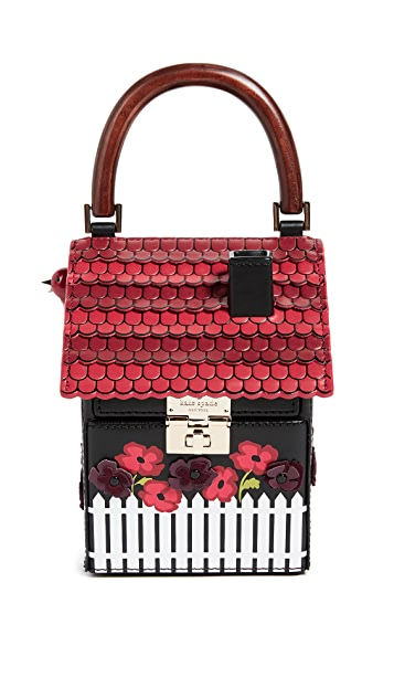 Kate Spade New York Cuckoo Clock Clutch