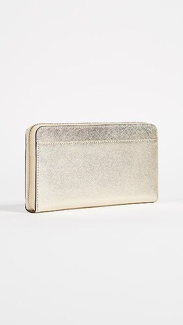 Kate Spade New York Cameron Street Lacey Zip Around Wallet