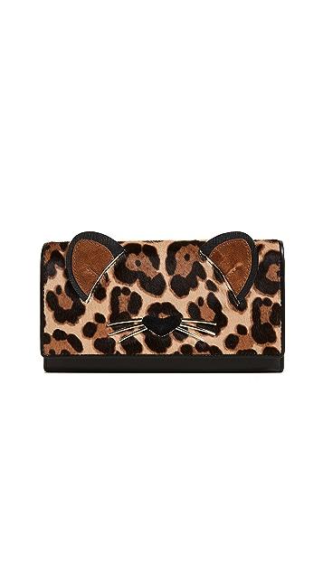 Kate Spade New York Leopard Dagney Wallet