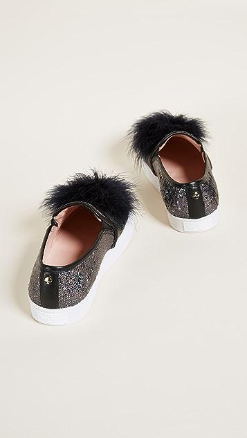 Kate Spade New York Latisa Pom Pom Sneakers
