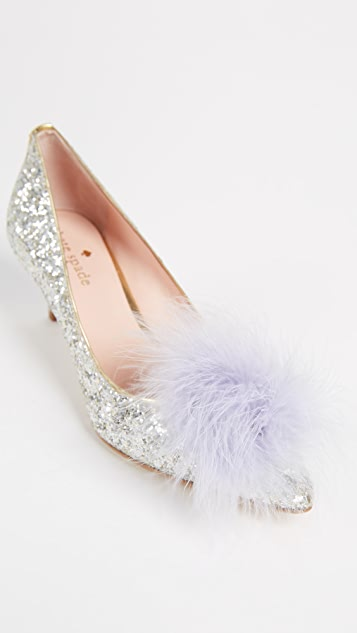 Kate Spade New York Park Pom Pom Pumps